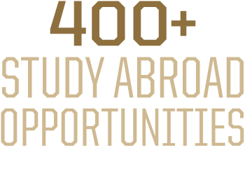 400 plus study abroad opportunities in 60 countries