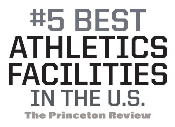 #3 best athletics facilities in the U.S. - The Princeton Review